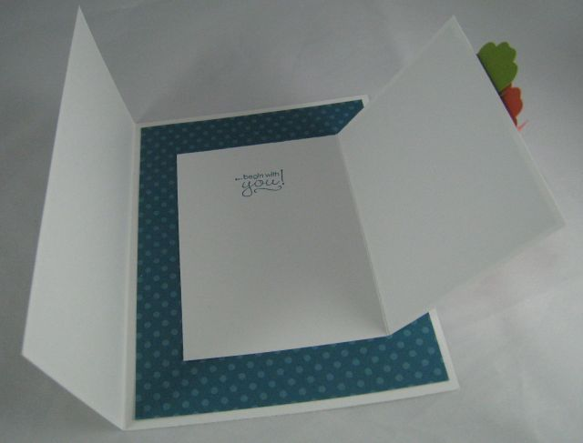 Joy Fold Card example