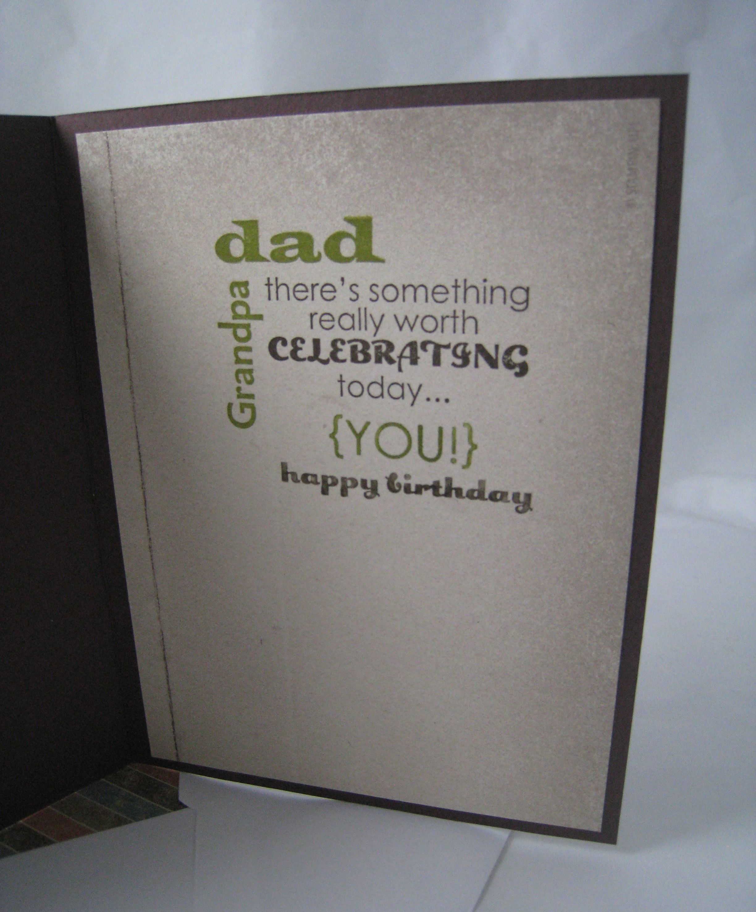 Happy Birthday Dad – Happy Birthday Card Dad