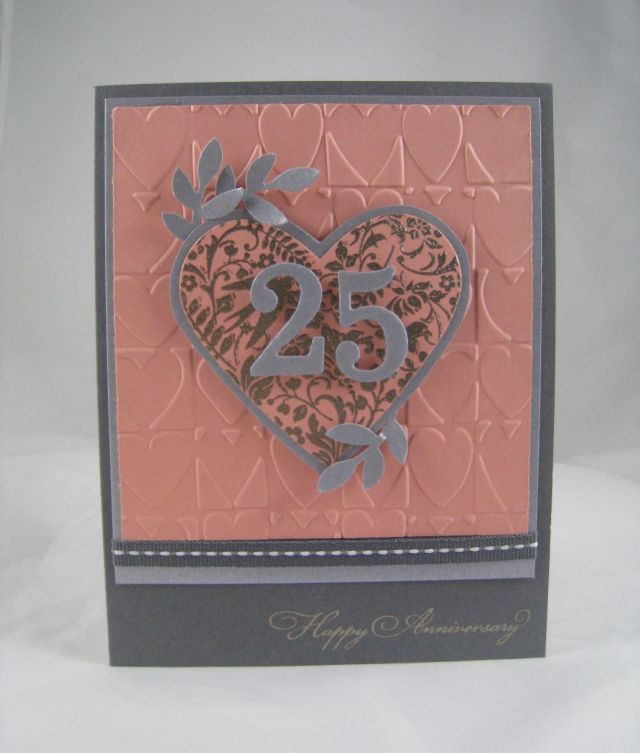 25 Anniversary card