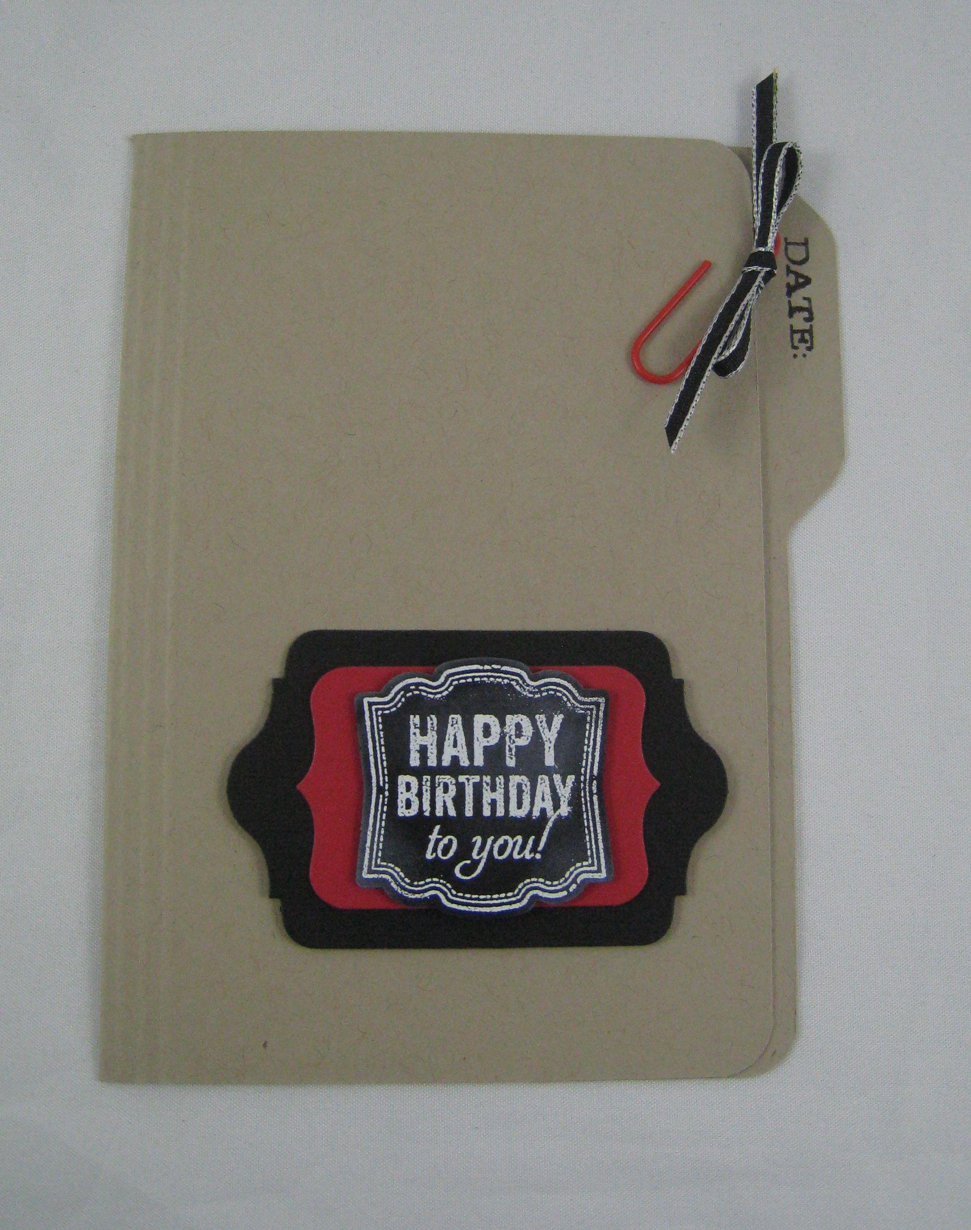 File Cards 10 Heart Svg: Envelope Punch Board -File Folder Cards!