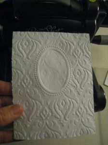 double embossing step3