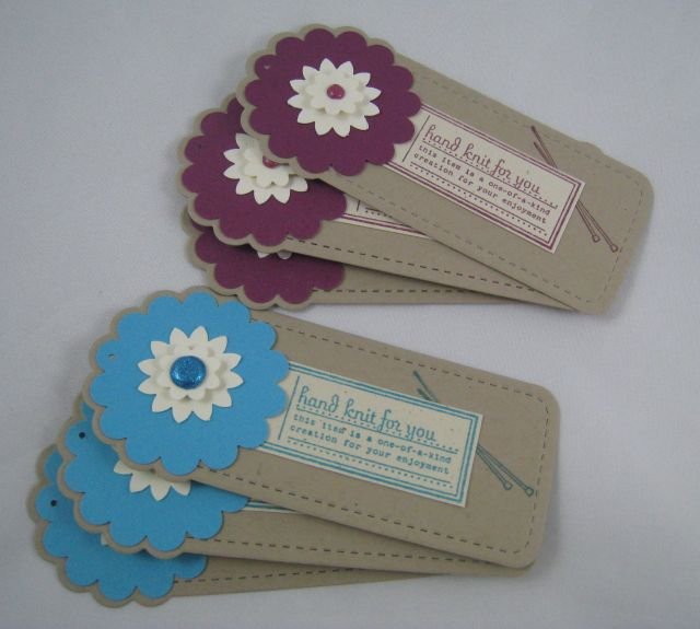 hand knit tags