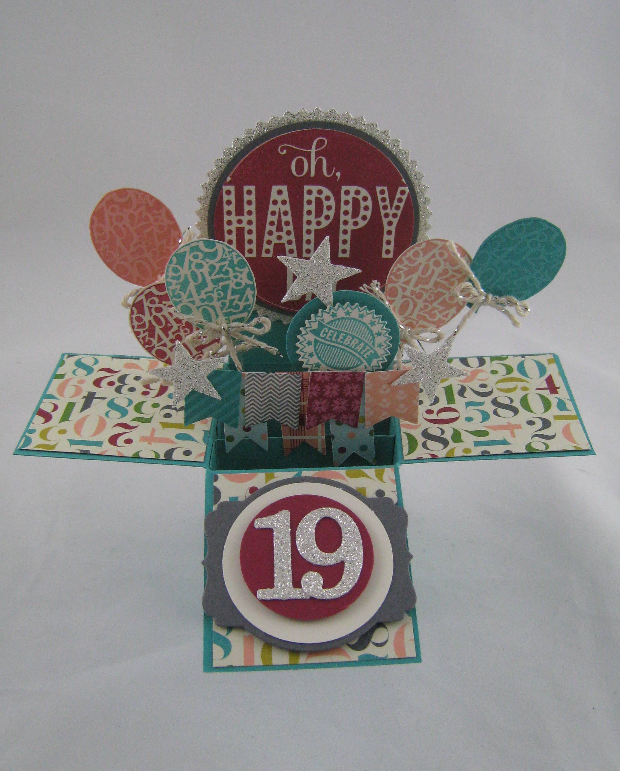 Birthday Card in a Box – Box of Birthday Cards
