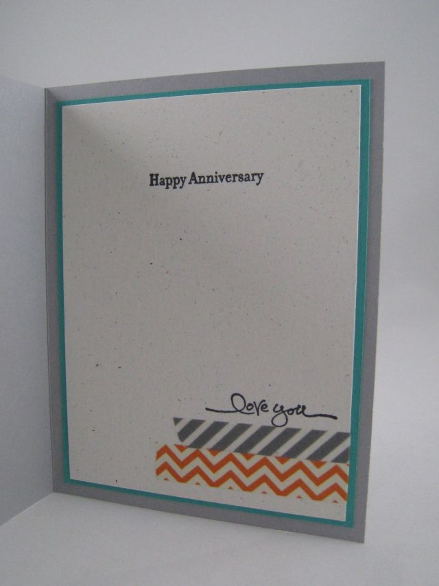 anniversary card inside