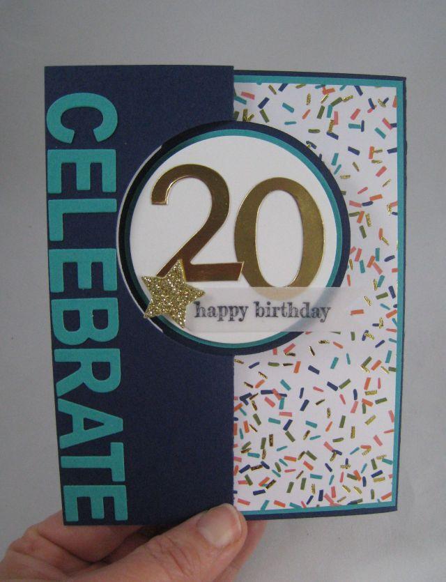 20th bday card