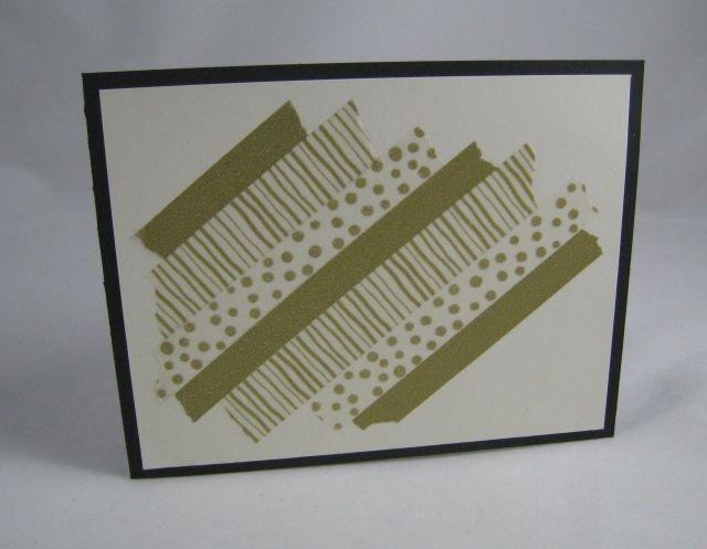 washi tape assembly