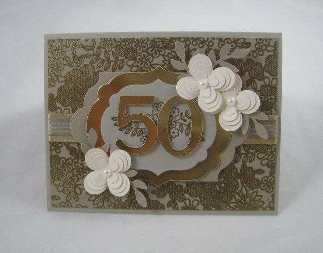 50 anniv card