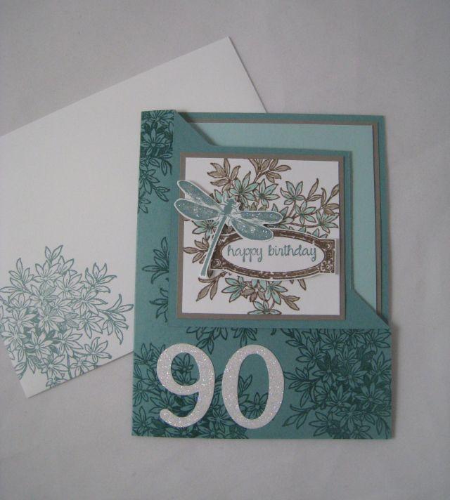 90 bday card